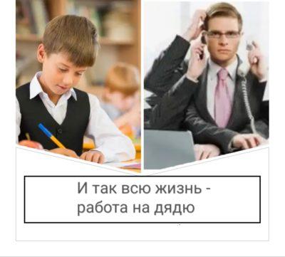 умственный труд/ работа в офисе